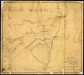 """Plate No. IV. Camp of the Right Wing, 13th Army Corps, on the Yocknapatafa (Yocona River), Decbr. 21st 1862.... - NARA - 305674.tif"