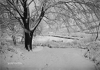 Winter on the Frydd