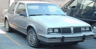 Pontiac 6000 - Image: '82 '84 Pontiac 6000 Coupe