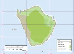 Karte der Insel ʻAta