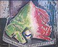 'Still Life', oil on composition board by Alfred Henry Maurer, c. 1928, Dayton Art Institute.JPG