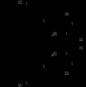 Strukturformel von Paliperidon