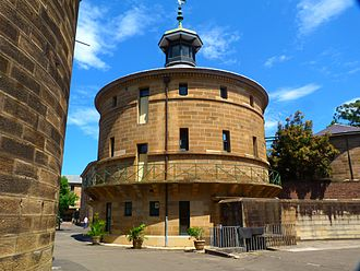 Darlinghurst Gaol - Grounds of the former gaol in 2011