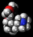 (1S,2R)-Tramadol molecule spacefill.png