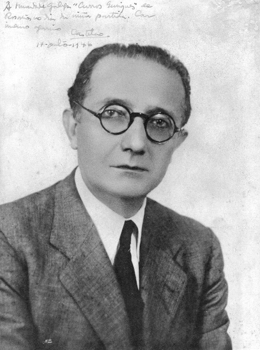 Á Irmandade Galega Curros Enríquez de Rosario, no día da miña partida. Castelao, 1946