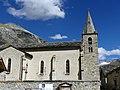 Église Notre-Dame de l'Assomption de Bonneval-sur-Arc en été (2018).JPG