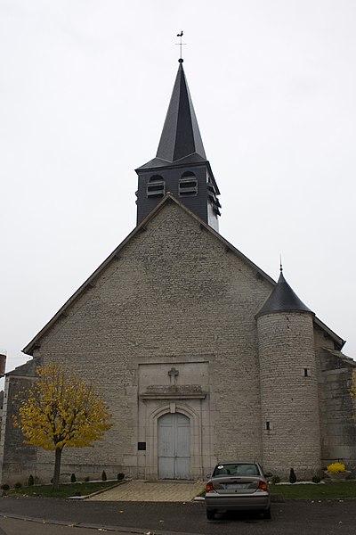 English:  Parish church St Martin
