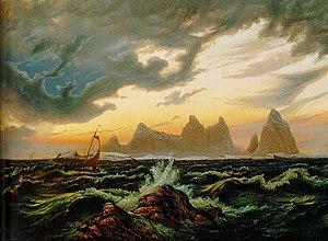 Knud Baade - Image: Øen Trænen i Nordland
