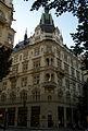 Činžovní dům - dům obchodnického spolku Merkur (Josefov), Pařížská 9, Josefov, Praha 1.jpg