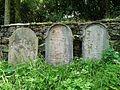ŽH Bohostice, tři náhrobky 01.jpg