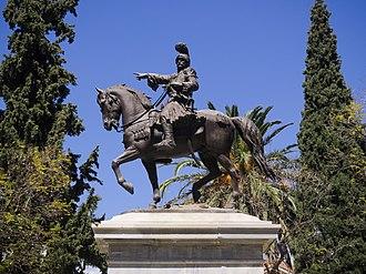 Theodoros Kolokotronis - Statue in Nafplio