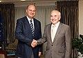 Συνάντηση ΥΦΥΠΕΞ Κωνσταντίνου Τσιάρα με Πρέσβη Ουκρανίας Volodymyr Shkurov (7844184114).jpg