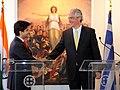 Συνάντηση ΥΦΥΠΕΞ Σπ. Κουβέλη με Ινδό Υφυπουργό Εμπορίου και Βιομηχανίας, Jyotiraditya Scindia (5567816442).jpg