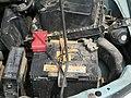 Аккумулятор на автомобиле Ниссан.JPG