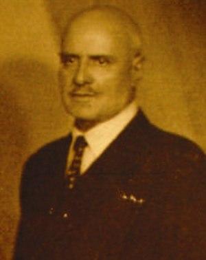 Leonida Bagration of Mukhrani - Father of Leonida, George Bagration of Mukhrani.