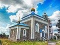 Вішнева, царква сьвятых Касмы і Даміяна, здымак 3.JPG