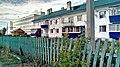 Жилой дом и здание УНИИСХ в посёлке Тимирязевский Ульяновской области.jpg