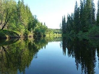 Chunsky District - Mura River, Chunsky District