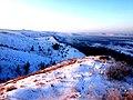 """Морозный рассвет на Кучугурах в заповеднике """"Меловая флора"""".jpg"""