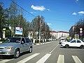 На пересечении улиц Гагарина и Мира (Клин).jpg