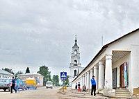 Нерехта-Гостиные ряды и колокольня Казанского собора - panoramio.jpg