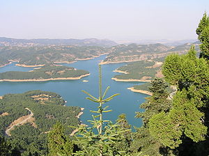 Karditsa - Plastiras' Lake, near the city.