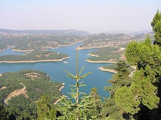 Karditsa - Plastiras' Lake, near the city.