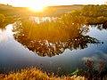 Острів в Сутисках (вид з Шершнянської скелі) P1670948.jpg