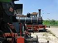 Парни локомотиви в музея на транспорта в Русе.JPG