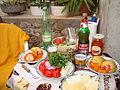 Первый ужин в Хорватии 2014-09-01.JPG