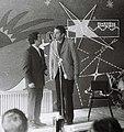 РОМАН КАРЦЕВ И ВИКТОР ИЛЬЧЕНКО В КЛУБЕ КВАНТ-1975 г.JPG