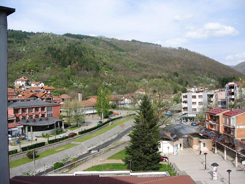 Река Врла у Сурдулици - Vrla River in Surdulica