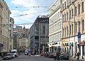 Рига (Латвия) - здание Galereija Centrs - panoramio.jpg