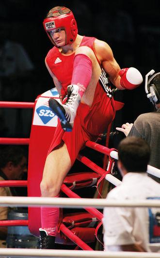 Roman Romanchuk (boxer) - Image: Роман Романчук