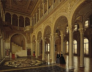 View of the Pavilion Hall in the Hermitage