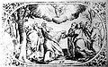 Унебаўшэсце. Медзярыт Аляксандра Тарасевіча з кнігі «Rosarium et officium B. V. M.» Vilno. Каля 1679 г..jpg