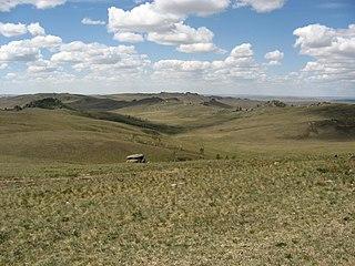Ecoregion along Russia/Mongolia border