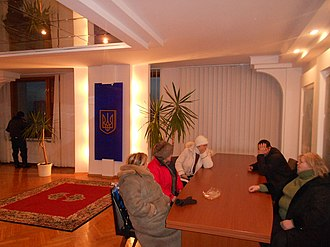 2014 Euromaidan regional state administration occupations - Activists in the Chernihiv Oblast RSA