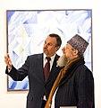 Шайхетдинов Вакиль и Талгат Таджуддин на открытии выставки 2011 год.jpg