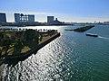 レインボーブリッジよりお台場海浜公園 - panoramio.jpg