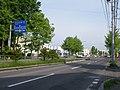 北海道道100号函館上磯線・北海道道1132号函館臨空工業団地線交点-2(起点側から).jpg