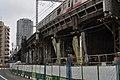 地下化工事中の東急東横線 Tōkyū Tōyoko Line - panoramio.jpg