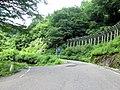 妙巌隧道 道路と国道471号との分岐点 - panoramio.jpg