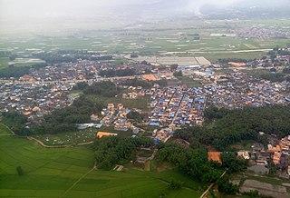 Fengping, Mangshi Town in Yunnan, Peoples Republic of China