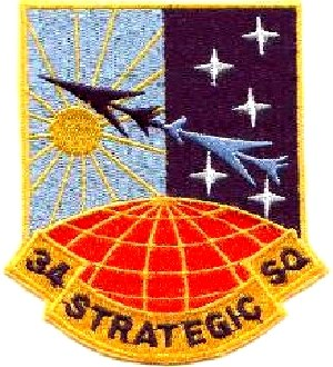 34th Strategic Squadron - Image: 0034 STRATEGIC SQUADRON