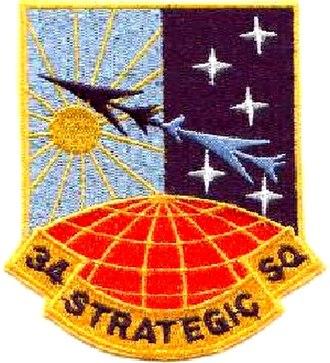 34th Strategic Squadron - Image: 0034 STRATEGIC SQUADRON