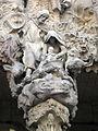 005 Sagrada Família, façana del Naixement, porta de la Caritat, la Nativitat.jpg