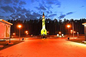 V-2 missile launch site, Blizna