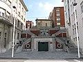 049 Escales vora la Comandància de Marina, des del c. Claudio Alvargonzález (Cimavilla, Gijón).jpg