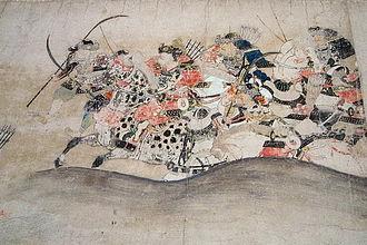 Minamoto no Yoshiie - The Later Three Year War